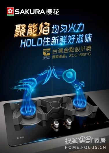 搜狐:它是一款贴心的灶具 樱花燃气灶6881G评测